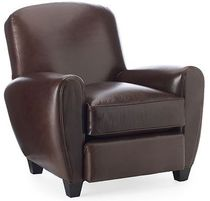 traditional leather club armchair COLE Williams Sonoma Home
