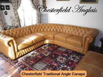 traditional leather corner sofa TRADITONAL CHESTERFIELD ANGLE CANAPE Chesterfield Anglais