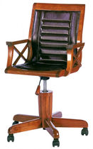traditional leather office armchair HALIFAX STARBAY
