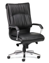 traditional leather office armchair STERLING  AIS 