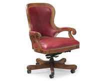 traditional leather office armchair 4012-35 Fairfield Chair Co.