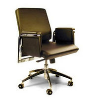 traditional leather office armchair 8273 CHARTER FURNITURE