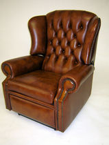 traditional leather recliner armchair BLOOMSBURY Kingsgate Furniture ltd