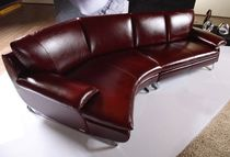 traditional leather sofa ROSE CORNER by Mehmet Gündüz Vanessa Divani