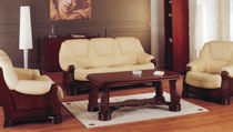 traditional leather sofa bed PAVANA Kler