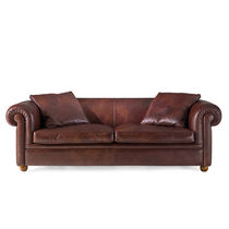 traditional leather sofa YORK BERTO SALOTTI