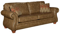 traditional leather sofa TAHOE Broyhill