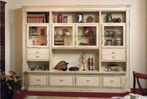traditional living room wall unit VINTAGE Stilema