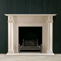 traditional mantel for fireplace THE REGENCY: FAIRFAX  Chesney