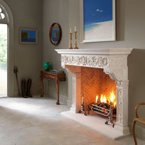 traditional mantel for fireplace THE STONE: FIORENZA  Chesney