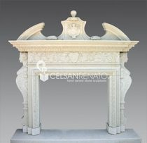 traditional mantel for fireplace (stone) M1/4 Celsan Renato