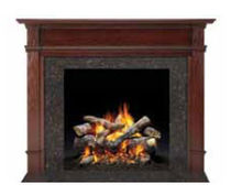 traditional mantel for fireplace (wood) HASTINGS  QUADRA-FIRE