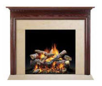 traditional mantel for fireplace (wood) WINCHESTER QUADRA-FIRE