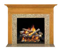 traditional mantel for fireplace (wood) YORKTOWN QUADRA-FIRE