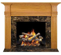 traditional mantel for fireplace (wood) PHILLIPS HALL  QUADRA-FIRE