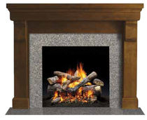 traditional mantel for fireplace (wood) SONOMA QUADRA-FIRE