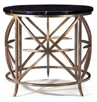 traditional marble side table  BOLIER
