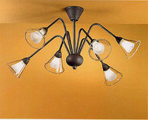 traditional metal ceiling lamp 023/6PL arte luce
