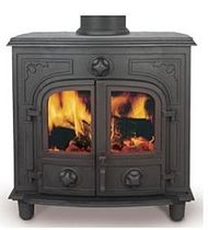 traditional multi-fuel boiler stove HERCULES 12B Broseley Fires