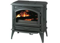 traditional multi-fuel stove (cast iron) DOVRE 760 GM DOVRE France