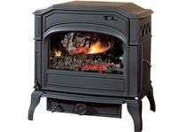 traditional multi-fuel stove (cast iron) DOVRE 750 GM DOVRE France