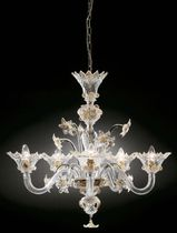 traditional Murano glass chandelier CORONA GAMMADELTAGROUP