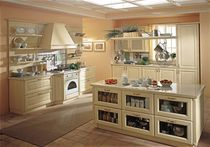 traditional painted wood kitchen (classic style) MONFORTE GRATTAROLA