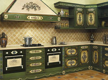 traditional painted wood kitchen (country style) MOD.436 FRATELLI RADICE