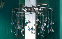 traditional pendant lamp (crystal) MOBILE FENG SHUI Orion Leuchtenfabrik