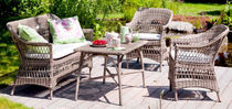 traditional rattan garden coffee table VICTORIA  Sika-Design