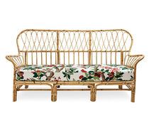 traditional rattan sofa 311 by Josef Frank Svenskt Tenn