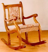 traditional rocking chair  Andrews Wood Crafts