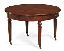 traditional round extending table T-456 Artes Moble