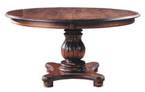 traditional round extending table VERSAILLES NICHOLS & STONE