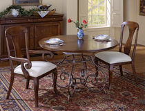 traditional round table B-26121 LEDA Furniture