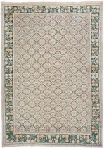 traditional rug COTTON AGRA Warp & Weft