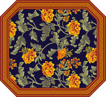traditional rug in wool CLASSIC 1 a-carpet