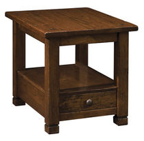 traditional side table AMERICAN RUSTIC NICHOLS & STONE