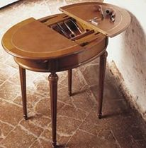traditional side table with storage 587 BAGGIO ANNICO