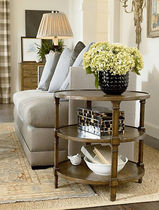 traditional side table CONNOISSEUR  DREXEL HERITAGE