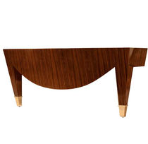 traditional sideboard table TRIOMPHE IN BLACK LIMBA Donghia