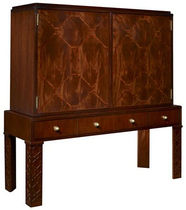 traditional sideboard with high legs FAIRLEY FRETWORK by T.O'Brien HICKORY CHAIR
