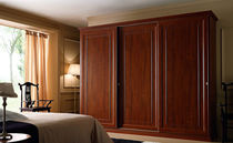 traditional sliding door wardrobe AGATA Sanmichele