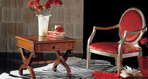 traditional solid wood bed-side table CHAMBERY 175 Bassi F.lli