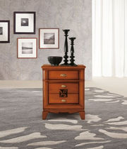 traditional solid wood bed-side table CAPRI : 3100 VACCARI CAV. GIOVANNI