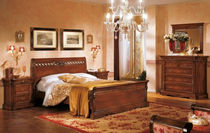 traditional solid wood double bed BASSANO : 727 VACCARI CAV. GIOVANNI