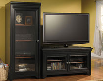 traditional solid wood TV cabinet STANFORD BUSH INDUSTRIES