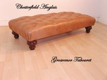 traditional stool GROSVENOR Chesterfield Anglais