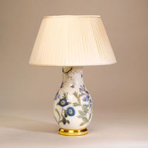 traditional table lamp (ceramic) CRYSTAL GLASS : DECALCOMANIA VASE VAUGHAN