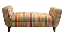 traditional upholstered bench EMILY  Ka-International